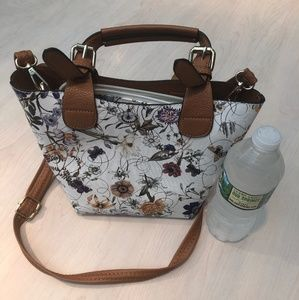 Floral purse within a purse